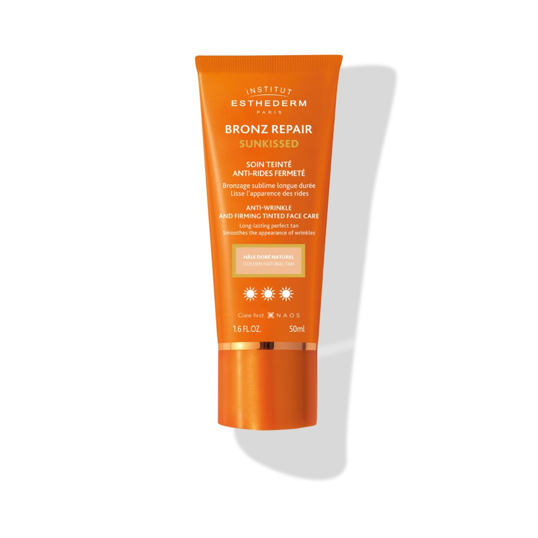 ESTHEDERM product photo, Bronz Repair Sunkissed Tinted Anti-wrinkle Face Cream 50ml, anti-aging protecting care